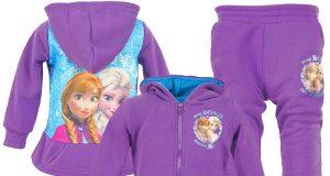 Frozen dres dziewczęcy fioletowy