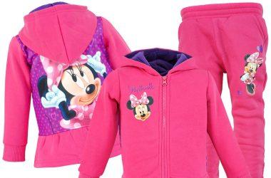 Dziecięcy dres Myszka Minnie różowy