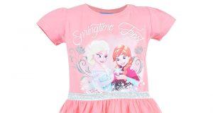 Letnie sukienki dla dziewczynek Disney Frozen