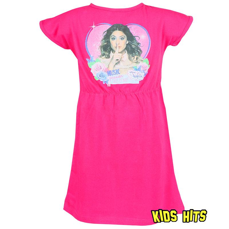 Letnia sukienka violetta dla dziewczynki różowa