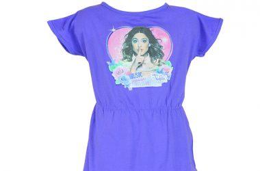 Violetta sukienki dla dziewczynki fioletowa