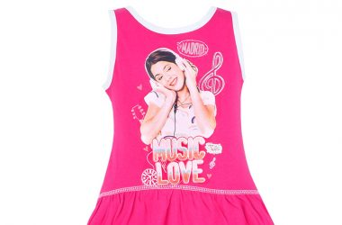 Sukienki z Violetty dla dziewczynki różowa
