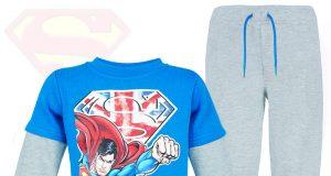 Dla chłopca super dres superman spodnie i bluza
