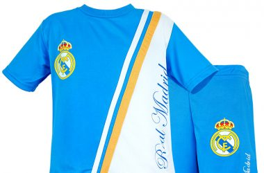Stroje piłkarskie dla dzieci - komplet Real Madryt Madridista