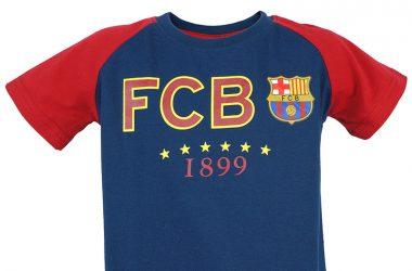 """Dziecięce koszulki piłkarskie z nadrukiem - FC Barcelona """"Blaugrana"""""""