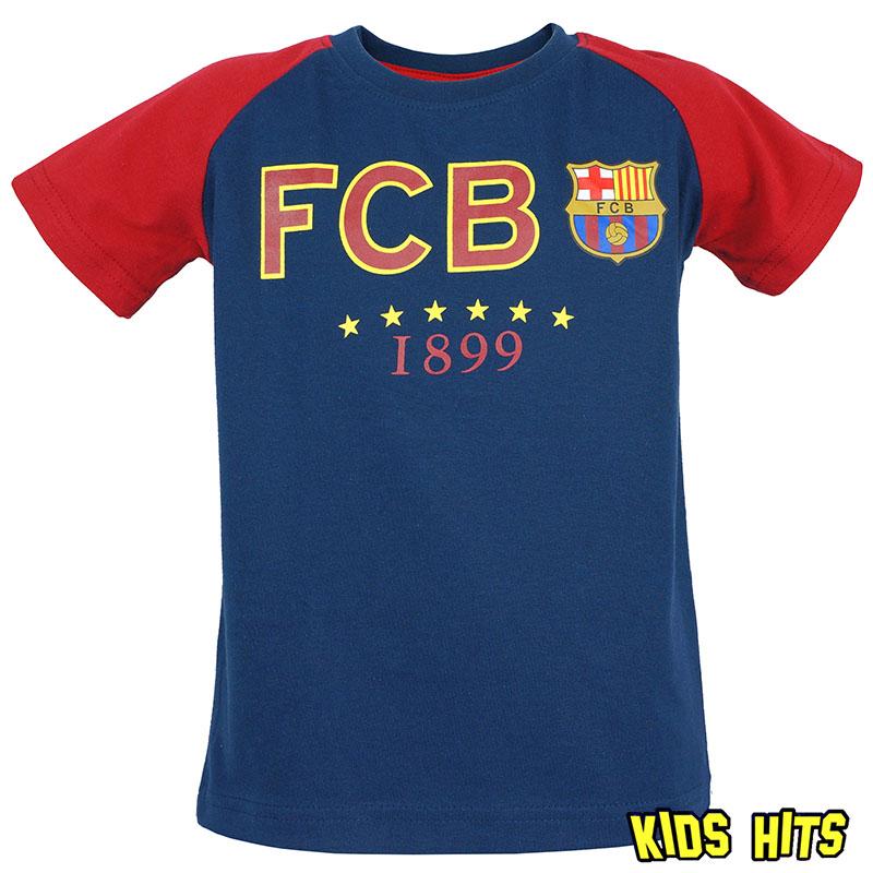 """Dziecięce koszulki piłkarskie z nadrukiem –  FC Barcelona """"Blaugrana"""""""