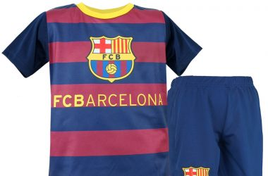 Komplet piłkarski dla dzieci - FC Barcelona Stripes