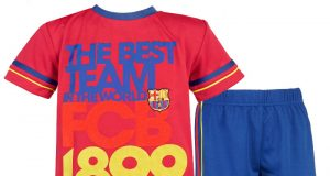 Komplety piłkarskie dla dzieci - FC Barcelona