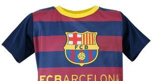 """Koszulki piłkarskie dla dzieci - FC Barcelona """"Stripes"""""""