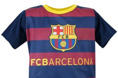73e11c78b4e1a Koszulki piłkarskie dla dzieci – FC Barcelona w paski