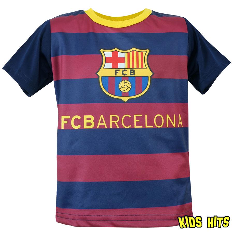 Koszulki piłkarskie dla dzieci –  FC Barcelona w paski