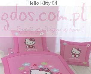 Hello kitty pościel dla dziewczynki różowa
