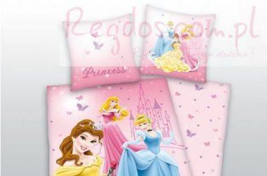 Dziecięca pościel księżniczki dla dziewczynki