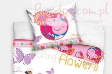 Dziecięca pościel świnka Peppa
