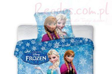 Dziecięca pościel Frozen Kraina Lodu Anna Elsa Olaf