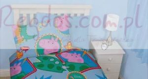 Świnka Peppa pościel dla dzieci 135x200 cm