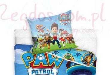 Psi Patrol pościel dla chłopca 160x200 cm