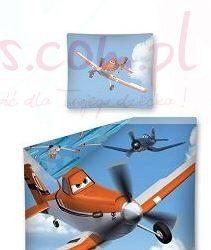 Dziecięca pościel Samoloty dla chłpca 160x200 cm