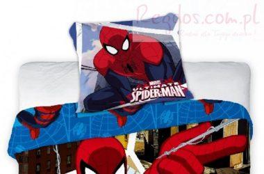 Dla chłopca pościel Spiderman 160x200
