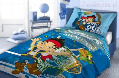 Jake i piraci z Nibylandii pościel 160x200