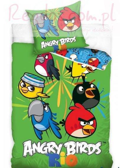 Pościel Angry Birds 160×200