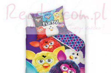 Pościel Furby 160x200 cm dla dziewczynek i chłopców