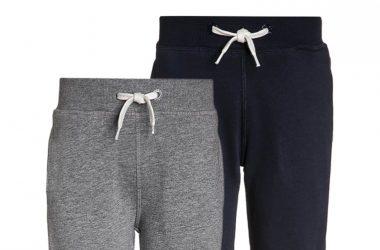 Spodnie dresowe dla dzieci 2-pak