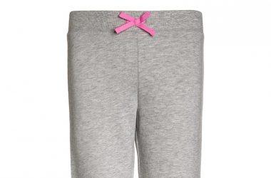 Szare spodnie dresowe dla dziewczynki