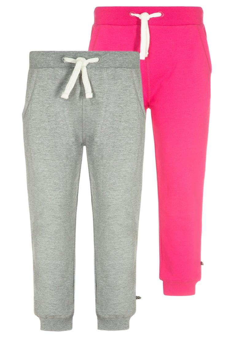 Bawełniane spodnie dresowe dla dziewczynki 2-pak