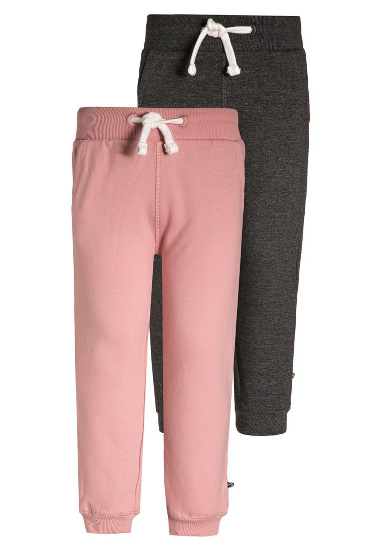 Bawełniane spodnie dresowe dla dziewczynki 2-szt