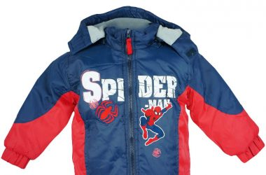 Dziecięca kurtka zimowa ze spidermanem