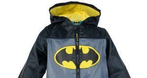 Przeciwdeszczowa dziecięca kurtka jesienna Batman