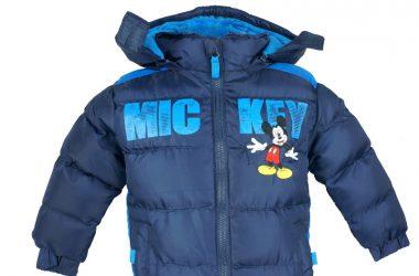 Dziecięca kurtka zimowa myszka MikiDziecięca kurtka zimowa myszka Miki