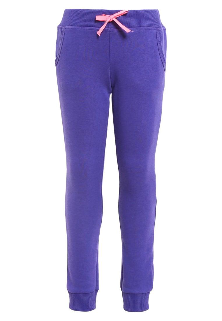 Fioletowe dresowe spodnie dla dziewczynki