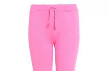 Różowe dresowe spodnie dla dziewczynki