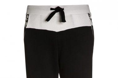 Dresowe bawełniane spodnie dla chłopca czarne