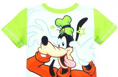 Modne ubranka dziecięce koszulka Goofy