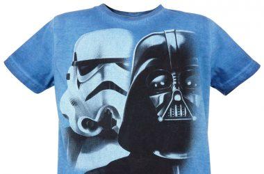 "Koszulka star wars ""VADER"" niebieska"