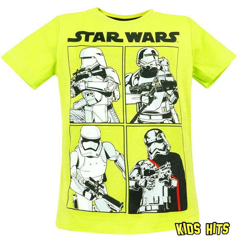 """Koszulki star wars dla dzieci """"Imperial"""" żółta"""