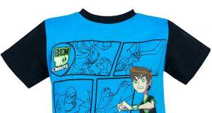 Dziecięca koszulka ben 10 niebieska