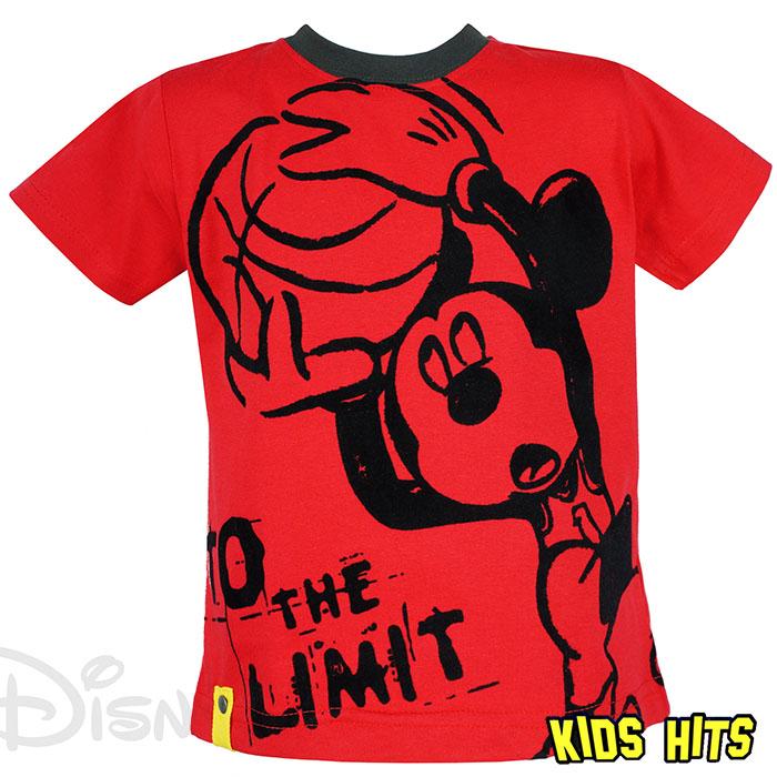Dziecięca koszulka t shirt mickey mouse czerwona