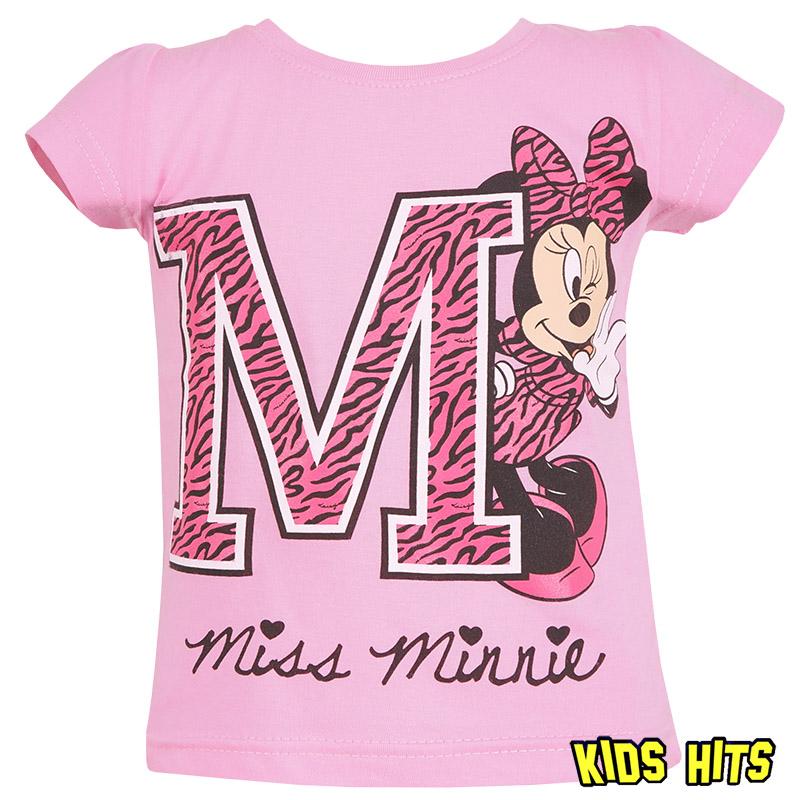 Disney koszulka Minnie Mouse jasny róż