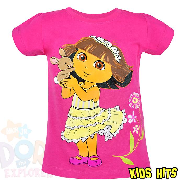 Koszulka Dora ciemny róż