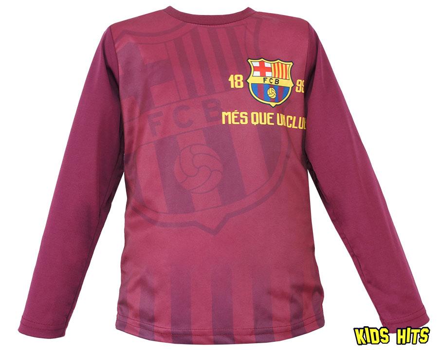 """Dziecięca bluzka fc barcelona """"Crest 1899"""" bordowa"""
