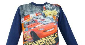 Bluzka Cars dla chłopca niebieska