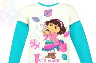 Dziecięca bluzka Dora beżowa