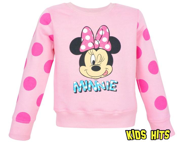Różowa bluza Minnie Mouse dla dziewczynki