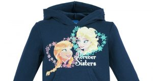 Dla dziewczynki bluza Frozen Kraina Lodu granatowa