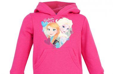 Dla dziewczynki bluza Kraina Lodu Frozen różowa