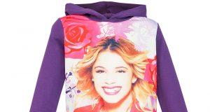 Ubrania Violetty - tunika bluza Violetta fioletowa